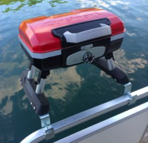 Five Best Grills for Pontoon Boats