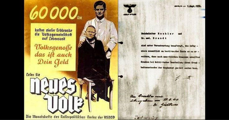 Action T4 – Nazi 'Euthanasia' Programme That Murdered The Disabled and The Mentally Ill