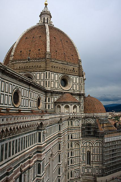 Duomo - Carrara (marmo bianco), Prato (serpentino verde), Siena e Monsummano (rosso) - | Flickr - Photo Sharing!