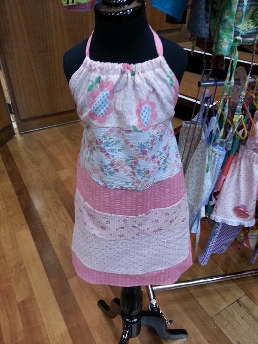gorgeous patchwork seersucker dress - by violetclothing on madeit