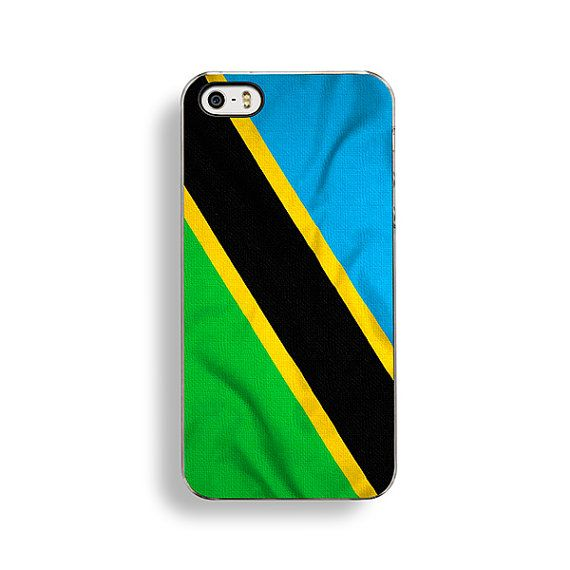 Flag of Tanzania iPhone Case by FlagOutfitters.
