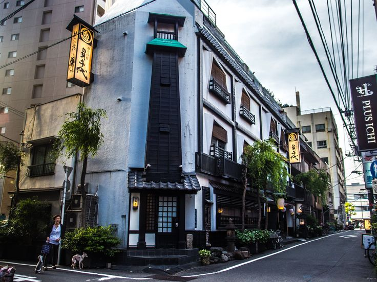"""There are still several ryokan left in Asakusa and this is perhaps the most impressive in terms of appearance and atmosphere: """"Sadachiyo"""" aka """"Sukeroku no Yado"""" (http://www.sadachiyo.co.jp/en/) in Asakusa's Second District. #Asakusa, #ryokan, #Sadachiyo, #Sukeroku, #Yado May 5, 2016 © Grigoris A. Miliaresis"""