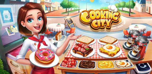 Free Game App Download ~ Cooking City | Restaurant game, Cooking games, Game cafe