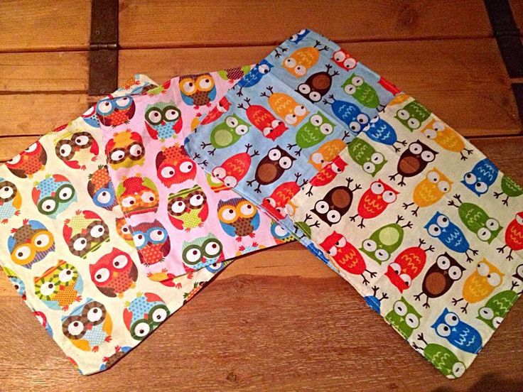 Handmade crinkle squares by SewFab3 on Etsy