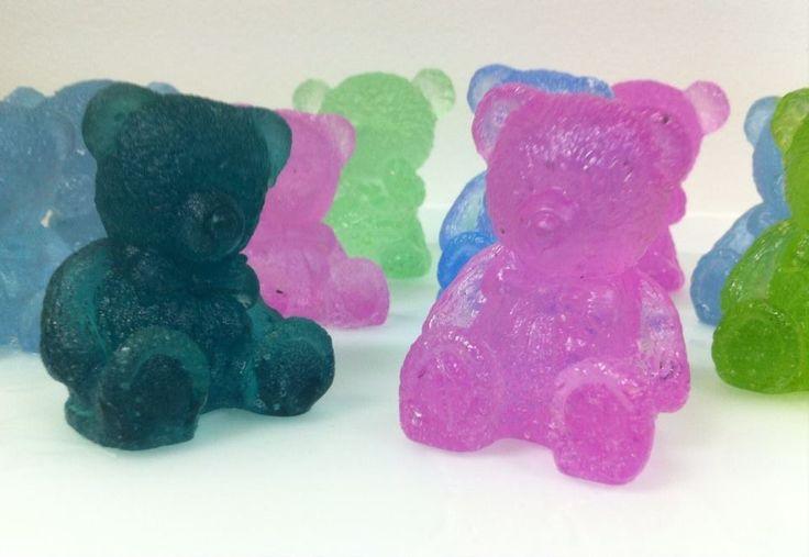 Glass teddy bear