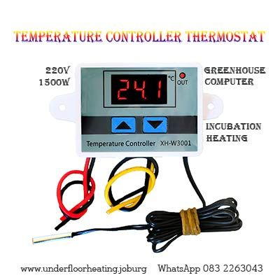 Temperature Controller Thermostat With Images Temperature