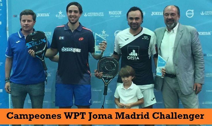 Campeones WPT Joma MADRID Challenger