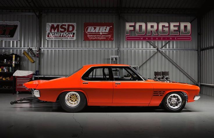 Drag-spec HQ Holden GTS