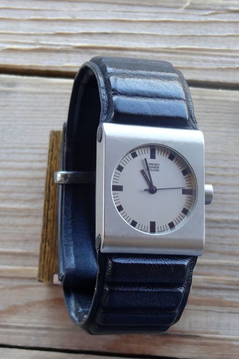 Currently at the #Catawiki auctions: Bruno Ninaber Titanium men's watch - year 1984