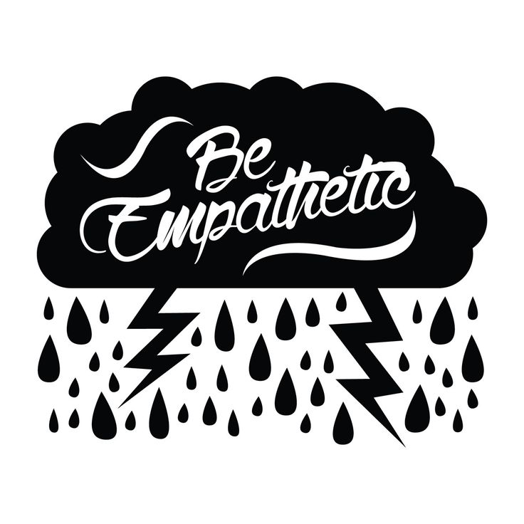 Be Empathetic - Office Quote Wall Decals