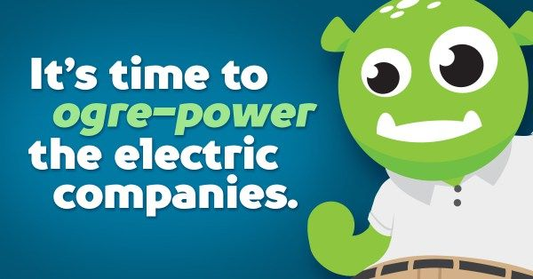 Where are my Texas people at!? Want to save some money on your energy bill? Energy Ogre can do just that!