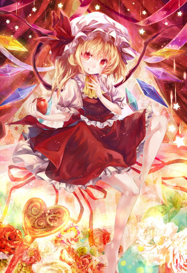 Anime-Touhou-Project-Flandre-Scarlet-1002951.png (1000×1473)