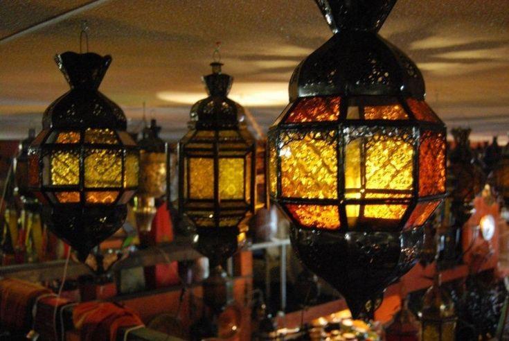 Kleurijke Marokkaanse Inrichting : ... Lampen op Pinterest ...