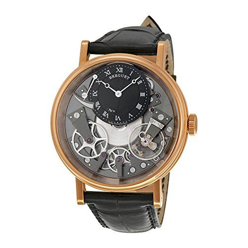 #hamiltonskeleton #luxurywatches #mensluxurywatches #skeletonwatch Breguet Tradition Automatic Skeleton Dial 18 kt Rose Gold Mens Watch 7057BR/G9/9W6 Check https://www.carrywatches.com Check more at www.carrywatches.com