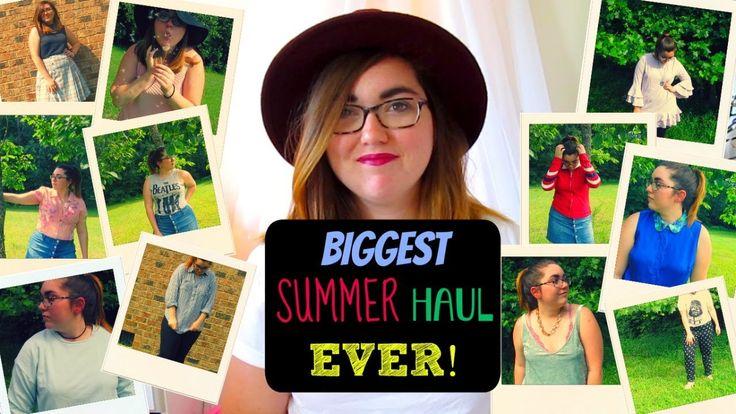 MASSIVE SUMMER CLOTHING TRY ON HAUL | GlitterBug
