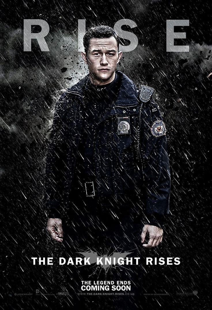 John Robin Blake TDKR Poster