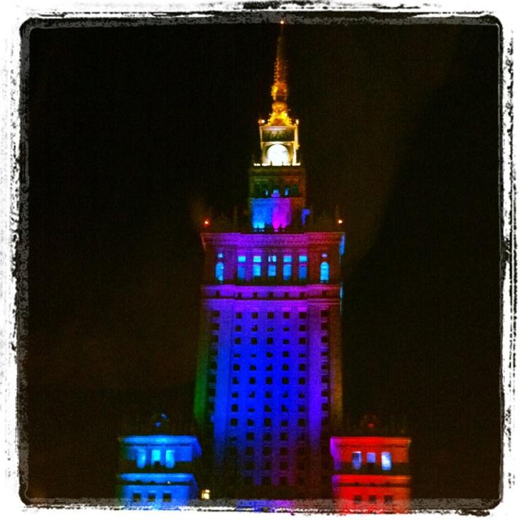 Warsaw by night :)