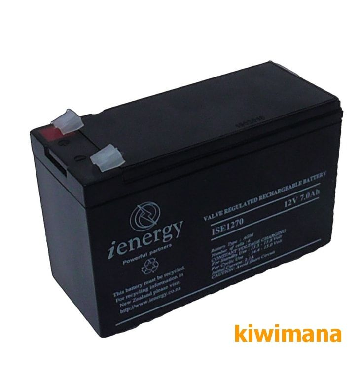 A small sized Sealed Lead Acid Battery, ideal for using with your Kiwi Oxalic Acid Vaporizer. via @kiwimana