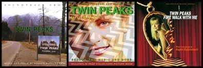 TWIN PEAKS' Influence: 5 Music Players!___ ⬤ Angelo Badalamenti: TWIN PEAKS soundtrack; Season Two soundtrack; FIRE WALK WITH ME soundtrack.___ ➜ Click the pic to hear all 5 MUSIC PLAYERS!