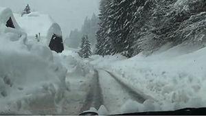 Kärnten: Eine Woche Schneemassen