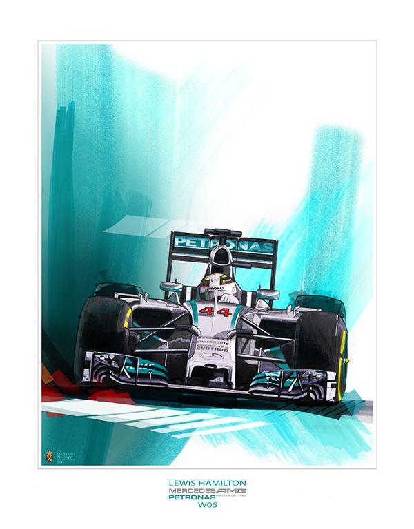 Lewis Hamilton MERCEDES AMG PPETRONAS F1 TEAM 2014 on Behance