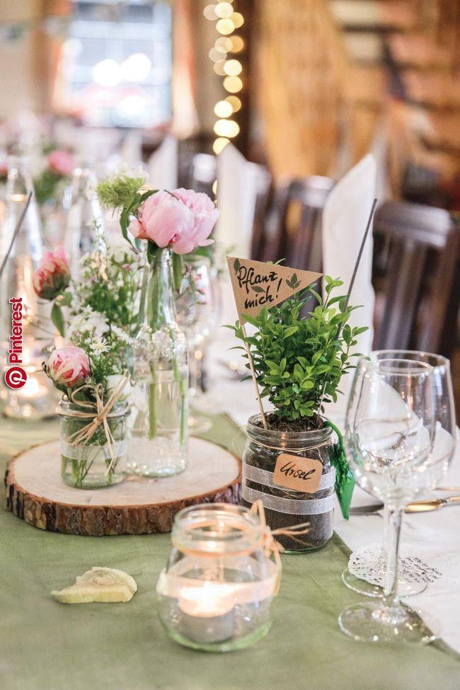 Deko Hochzeit Tisch