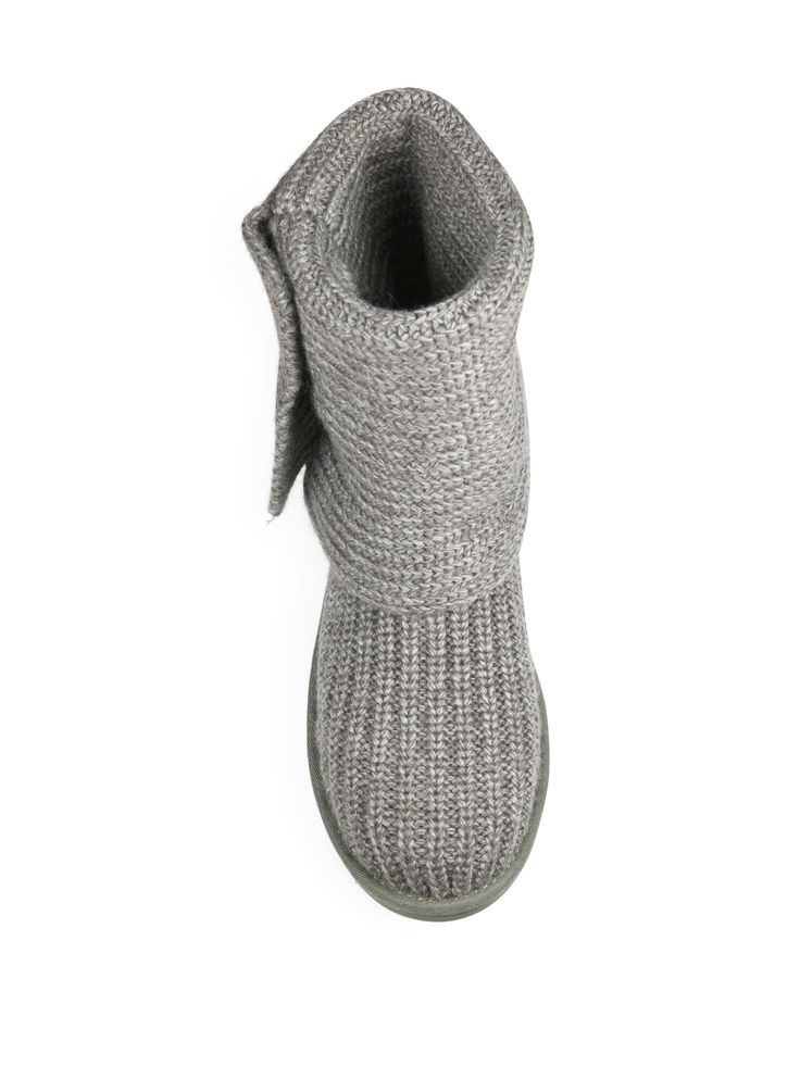 UGG Classic Cardy Knit Boots. #ugg #shoes #