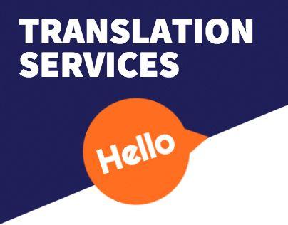 """Check out new work on my @Behance portfolio: """"Translation Service"""" http://be.net/gallery/32082933/Translation-Service"""