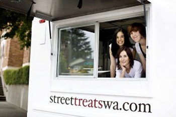 Food trucks as brand builders, Seattle Met Magazine  | #foodtruck #dessert #Seattle #wedding #catering | Street Treats Food Truck, Seattle WA | www.streettreatswa.com