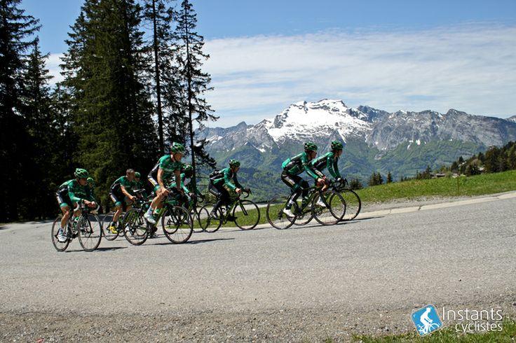 Team Europcar in col de la Croix Fry | Instants Cyclistes