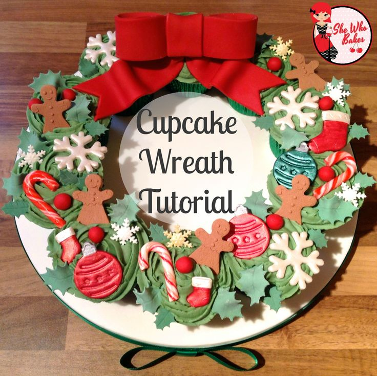 Merry Christmas to you all! If you fancy baking something a little different to a Christmas cake this year, why not try a cupcake wreath. A simple but impressive display made up More →