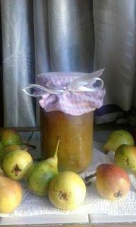 lericettediziasara: marmellata di pere fatta in casa( homemade pear ma...