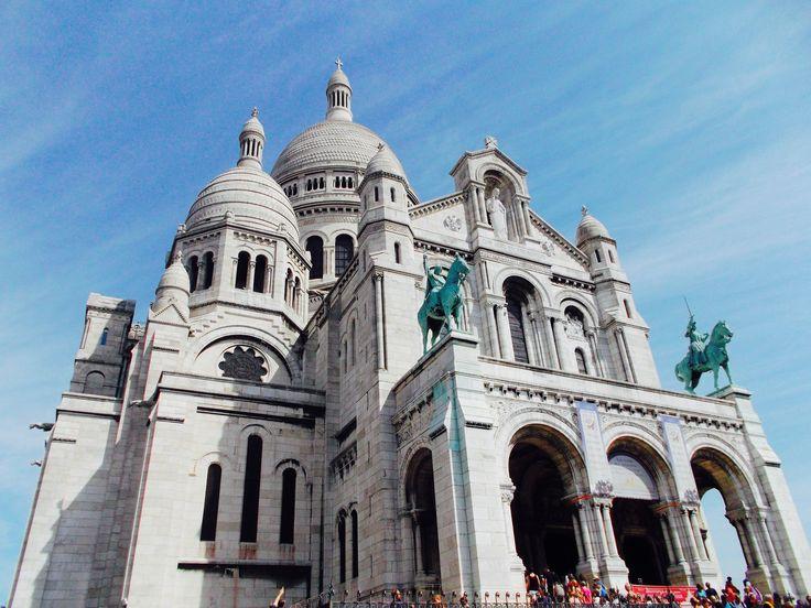 Chiesa di Mont Matre, Paris, France