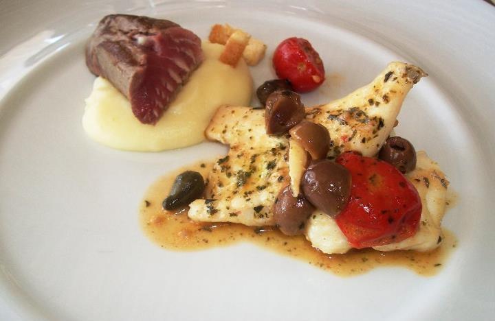 Il secondo di una degustazione di pesce a Porto Cervo *.*