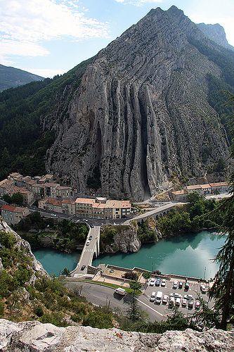 Sisteron. Provence-Alpes-Côte d'Azur