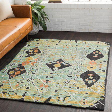 Boulder A Rectangle Boho Bohemian 65 Polypropylene 35 Polyester Area Rug Moroccan Shag Rug Area Rugs Rugs
