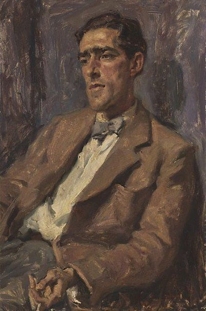 1951: Ivor Hele – Laurie Thomas.  The subject of Ivor Hele's 1951 Archibald winning picture, Laurie Thomas, was an art critic, gallery director, journalist and editor.