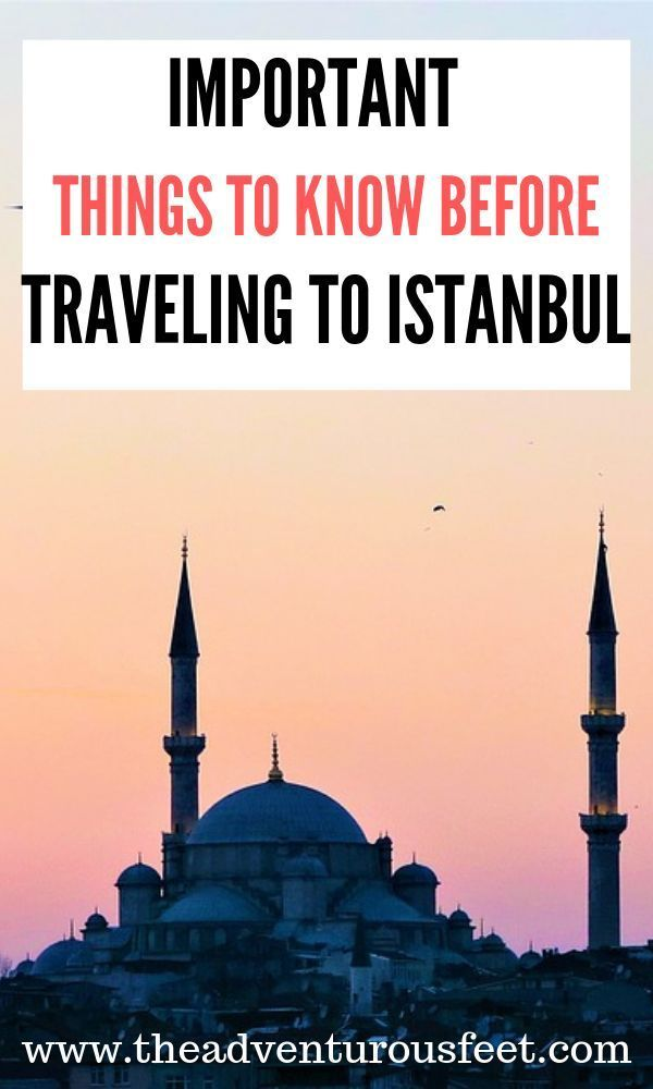Istanbul travel tips for first time visitors