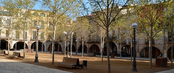Plaza Mayor de Banyoles.