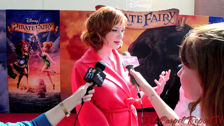 Christina Hendricks at DisneyToon Studios Premiere of The Pirate Fairy #PirateFairy #Disney via #RedCarpetReport #Video  http://www.redcarpetreporttv.com/2014/03/23/fairy-wings-and-pretty-things-come-out-to-the-disneytoon-studios-premiere-of-the-pirate-fairy-piratefairy-disney/