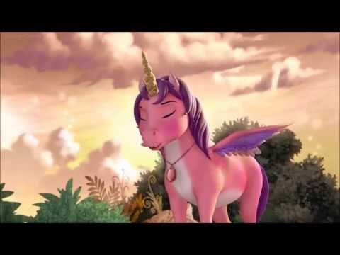 Sofia the First - Sofia transforms into Flying Unicorn - YouTube