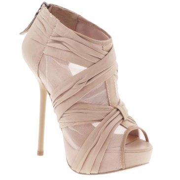 i needBeige Chiffon, Shoes, Fashion, High Heels Boots, Style, Leather Boots, Ankle Boots, Crepes, Highheels