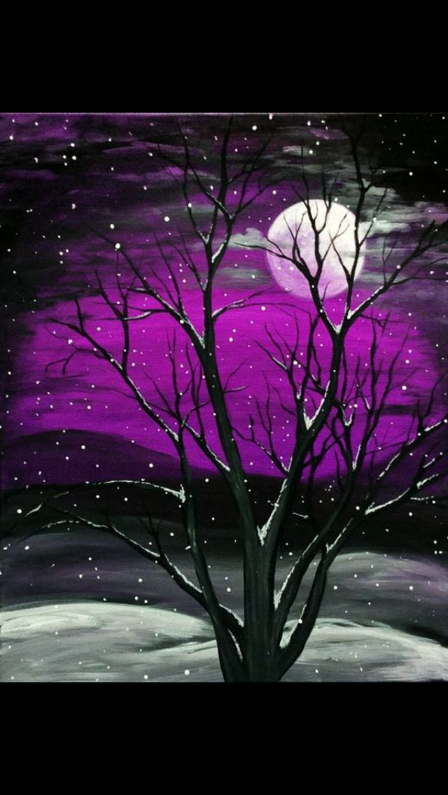 20 best winter free acrylic painting tutorials images on pinterest acrylic painting tutorials. Black Bedroom Furniture Sets. Home Design Ideas