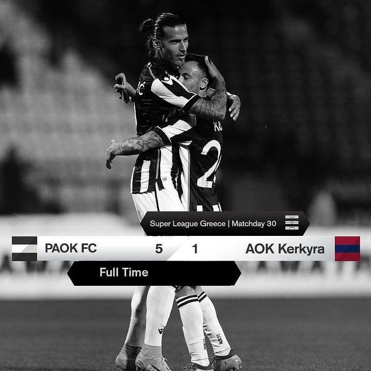 #PAOKAOK 5-1 #SuperLeague