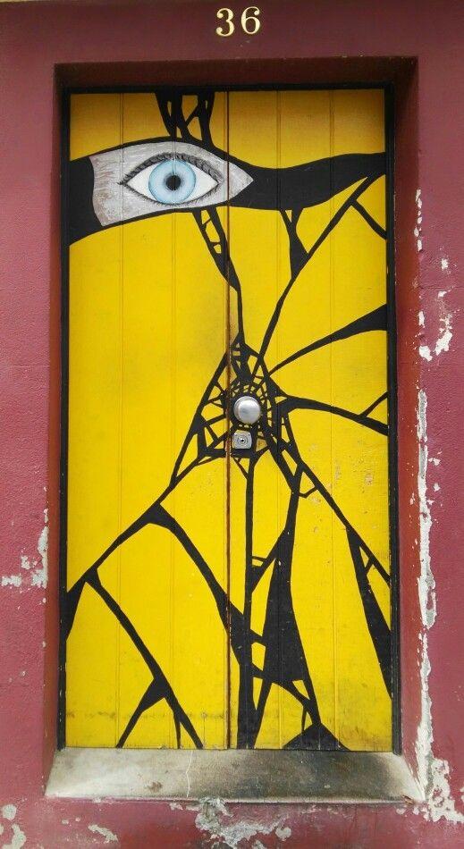 Door ,rua Santa Maria - Madeira - Portugal