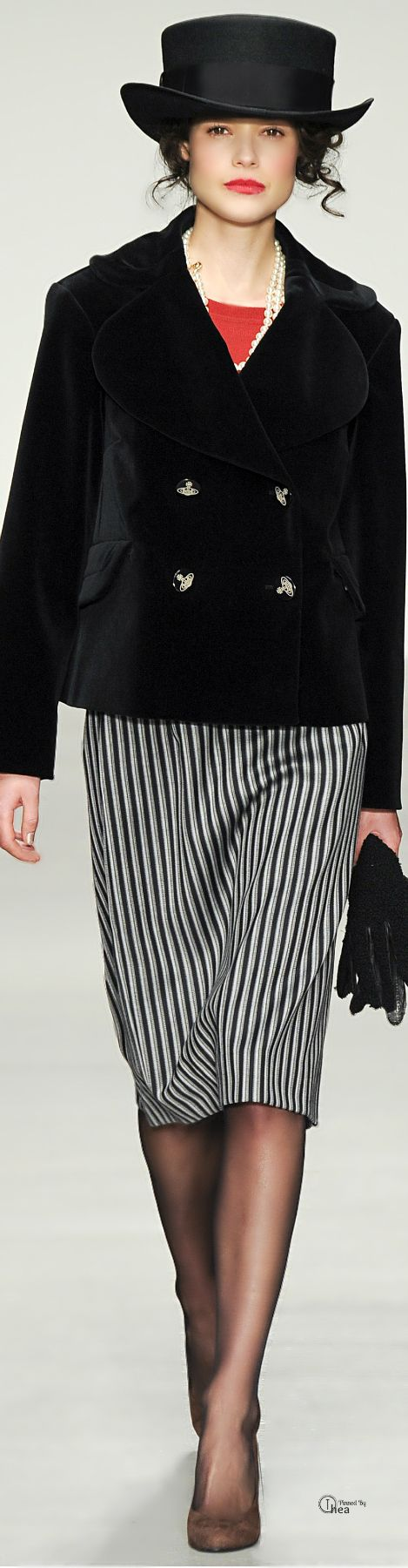 Vivienne Westwood Red Label ● Fall 2014. No hat for work