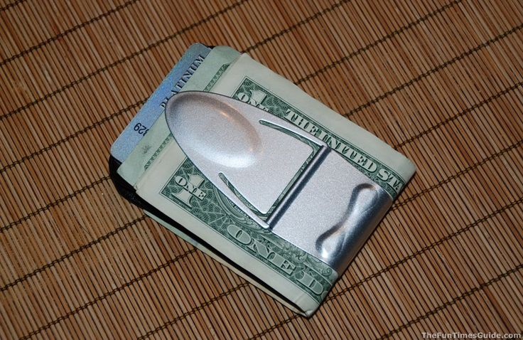 Money Clamp: The Best Front Pocket Wallet For Guys | Fun Times Guide to Men's Fashion
