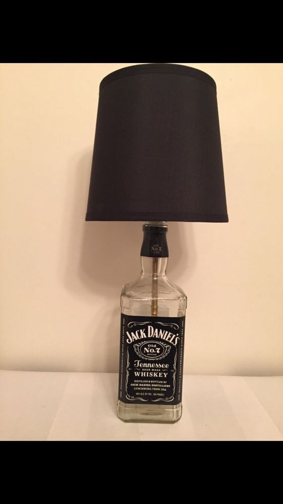 25 best ideas about Liquor Bottle Lamps