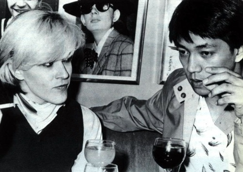 David Sylvian (Of Japan) and Ryuichi Sakamoto (YMO)