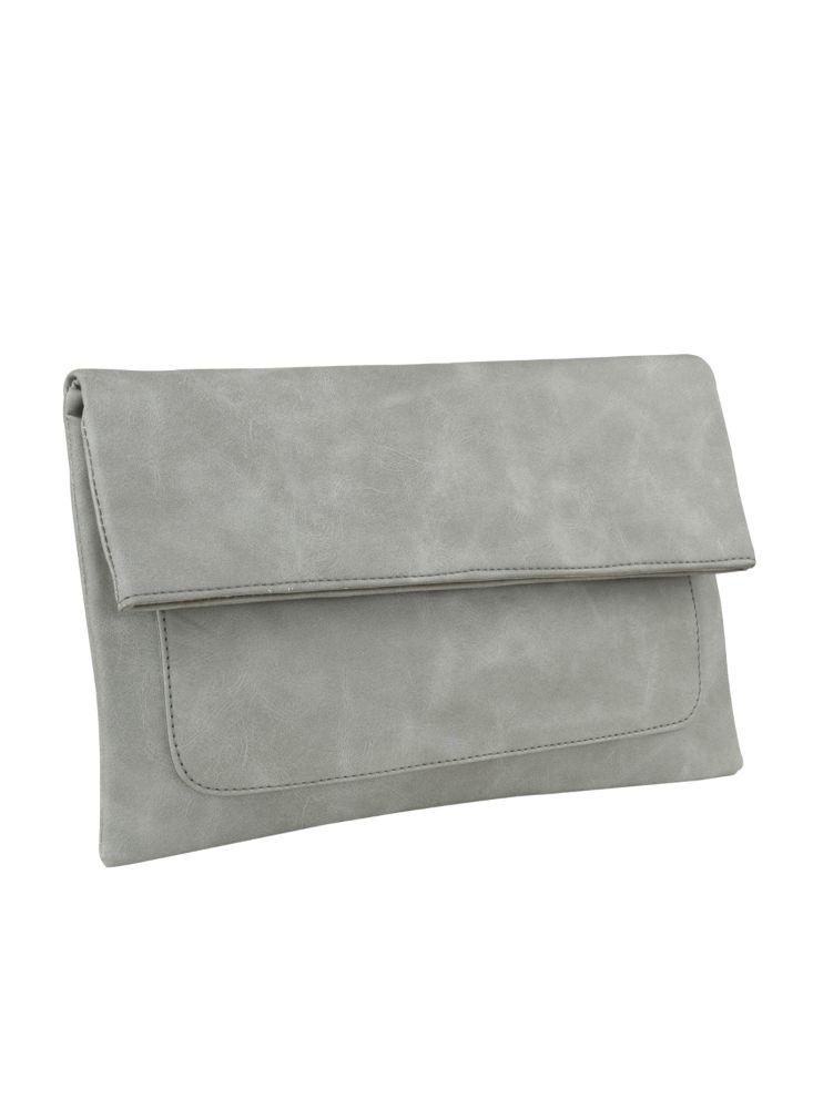 Freesia clutch bag #clutchbag #taspesta #handbag #clutchpesta #fauxleather #kulit #folded #dove #simple #casual #grey  Kindly visit our website : www.bagquire.com